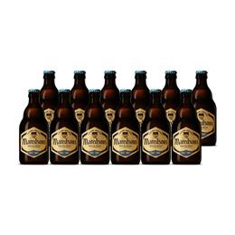 Cerveza Maredsous Triple Botella 330cc x12