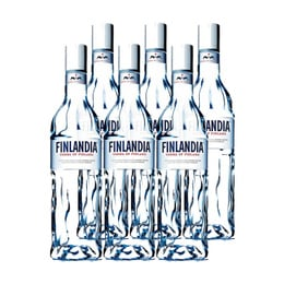 Vodka Finlandia Botella 750cc x6