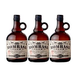 Gin Mombasa Club Botella 700cc x3