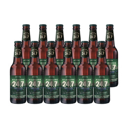 Cerveza KM 24.7 Session IPA Botella 355cc x12