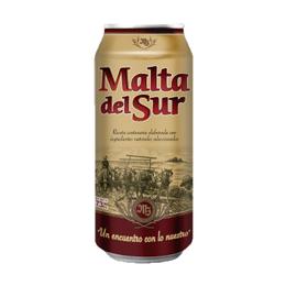 Cerveza Malta del Sur Lata 473cc