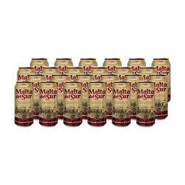 Cerveza Malta del Sur Lata 473cc x24