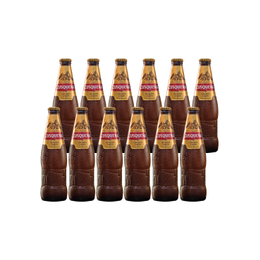 Cerveza Cusqueña Botella 620cc x12