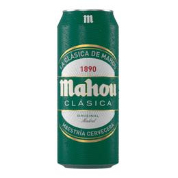 Cerveza Mahou Clasica Lata 500cc