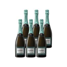 Espumante Riccadonna Chardonnay Brut Botella 750cc x6
