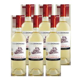 Vino Casa Donoso Bicentenario Gran Reserva Sauvignon Blanc Botella 750cc x6