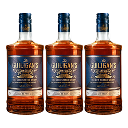 Whisky The Guiligan´s Botella 750 cc x3
