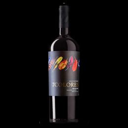 Vino 7 Colores Single Vineyard Red Blend Botella 750cc