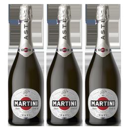 Espumante Martini Asti Botella 750cc x3