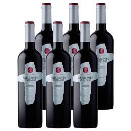 Vino Misiones de Rengo Varietal Cabernet Sauvignon Botella 750cc x6