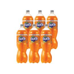 Fanta Zero Botella 1,5Lts x6