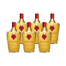 Pisco Diablo 35° Botella 700cc x6