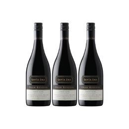 Vino Santa Ema Gran Reserva Pinot Noir Botella 750cc x3