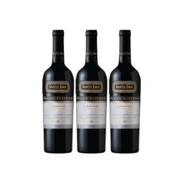 Vino Santa Ema Gran Reserva Carmenere Botella 750cc x3