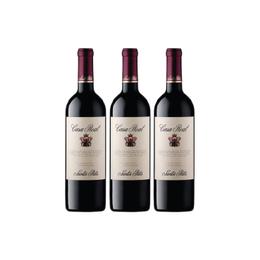Vino Casa Real Cabernet Sauvignon Botella 750cc x3