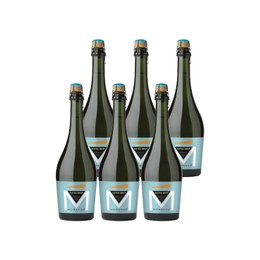 Espumante Morande Extra Brut Charmat Botella 750cc x6
