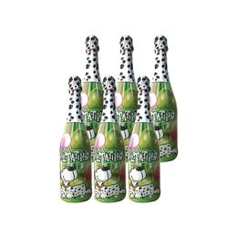 Espumante Sin Alcohol Dalamatino Manzana Botella 750cc x6