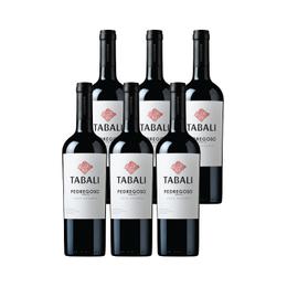Vino Tabali Pedregoso Gran Reserva Merlot Botella 750cc x6
