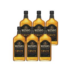 Whisky Wattson´s Spicy Botella 700cc x6