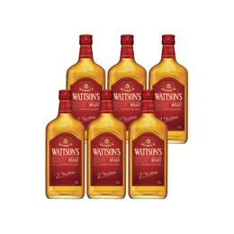 Whisky Wattson´s Botella 700cc x6