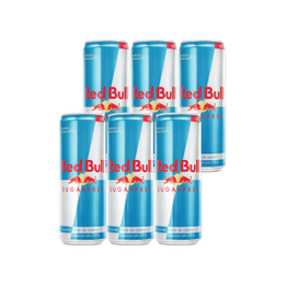 Red Bull Sugar Free Lata 355cc x6
