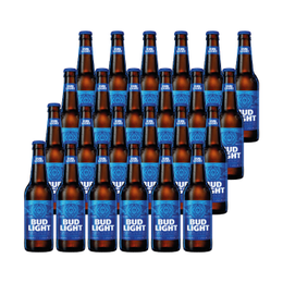 Cerveza Bud Light Botella 355cc x24