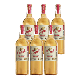 Pisco Capel 35° Botella 1Lt x6