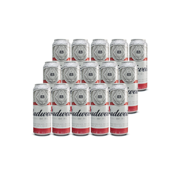 Cerveza Budweiser Lager Lata 740cc x15