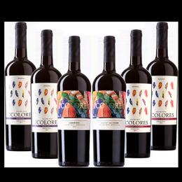 Pack Mixto Vino 7 Colores 4 Variedades 6 Botellas 750cc
