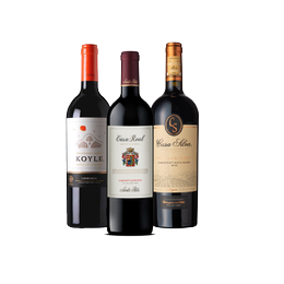 Pack Vinos 1x Casa Real + 1x Koyle Single Vineyard + 1x Casa Silva Gran Terroir Botella 750cc