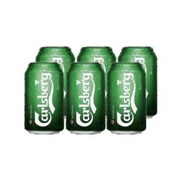 Cerveza Carlsberg Lager Lata 330cc x6