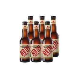 Cerveza Moritz Red IPA Botella 330cc x6