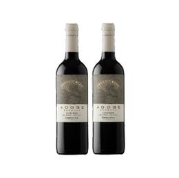 Vino Adobe Carmenere Botella 750cc x2