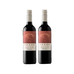 Vino Adobe Cabernet Sauvignon Botella 750cc x2