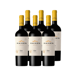 Vino Kaiken Reserva Estate Malbec Botella 750cc x6