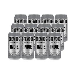 Cerveza BrewDog Indie Pale Ale Lata 500cc x12