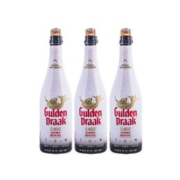 Cerveza Gulden Draak Botella 750cc x3