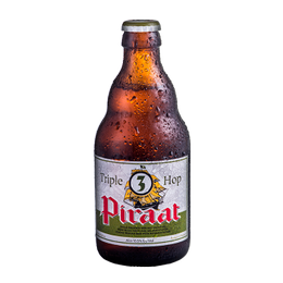 Cerveza Piraat Triple Hop Botella 330cc