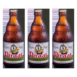 Cerveza Piraat Triple Hop Botella 330cc x6