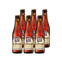 Cerveza La Trappe Quadrupel Botella 330cc x6