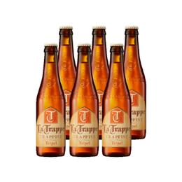 Cerveza La Trappe Tripel Botella 330cc x6