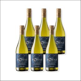 Vino Novas Gran Reserva Chardonnay Botella 750cc x6