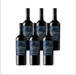 Vino Novas Gran Reserva Cabernet Sauvignon Botella 750cc x6