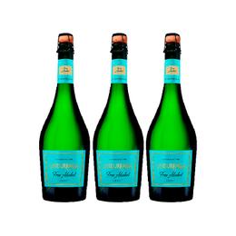 Espumante Undurraga Sin Alcohol Botella 750cc x3