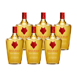 Pisco Diablo 35° Botella 1 Lt. X6