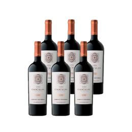 Vino Chocalan Origen Gran Reserva Cabernet Sauvignon Botella 750cc x6