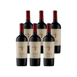 Vino Sutil Gran Reserva Cabernet Sauvignon Botella 750cc x6
