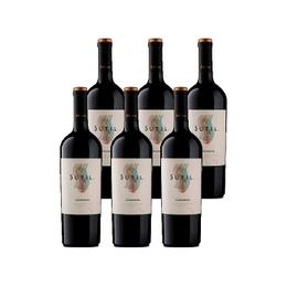 Vino Sutil Reserva Carmenere Botella 750cc x6