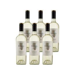 Vino Sutil Reserva Sauvignon Blanc Botella 750cc x6