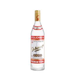 Vodka Stolichnaya Botella 1Lt